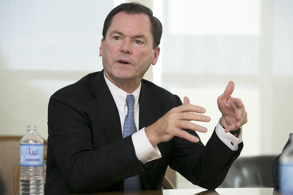 State Street Corp. CEO Jay Hooley.